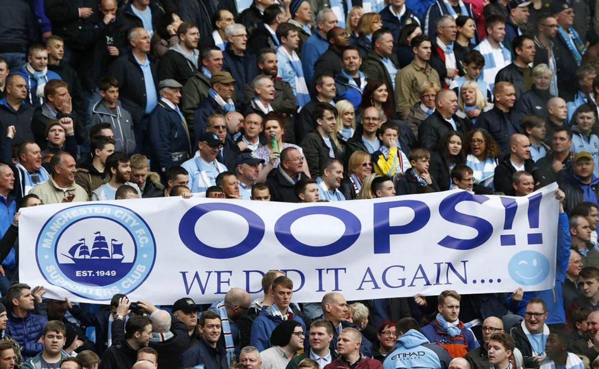 Manchester City et son public à l'humour très potache…